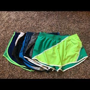 Nike Lot Of 5 Shorts Large